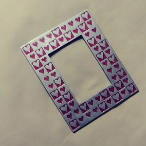 Hearts Metal Picture Frame